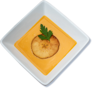 Hearty Boys Butternut Squash Bisque
