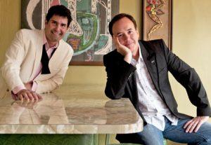 Hearty Boys Dan Smith and Steve McDonagh