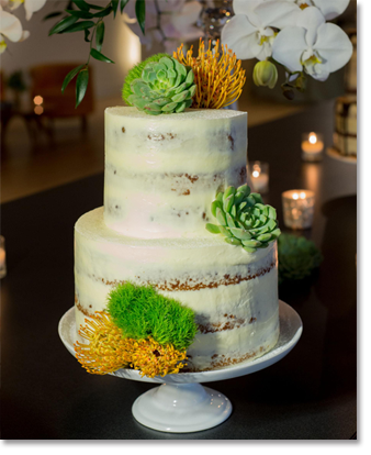 Hearty Boys Catering Wedding Cake