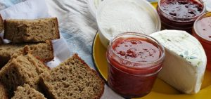 Hearty Boys Strawberry Compote